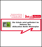 Logo vom Sponsor - eEducation Berlin Masterplan